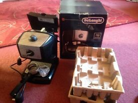 Delonghi coffee/espresso macine