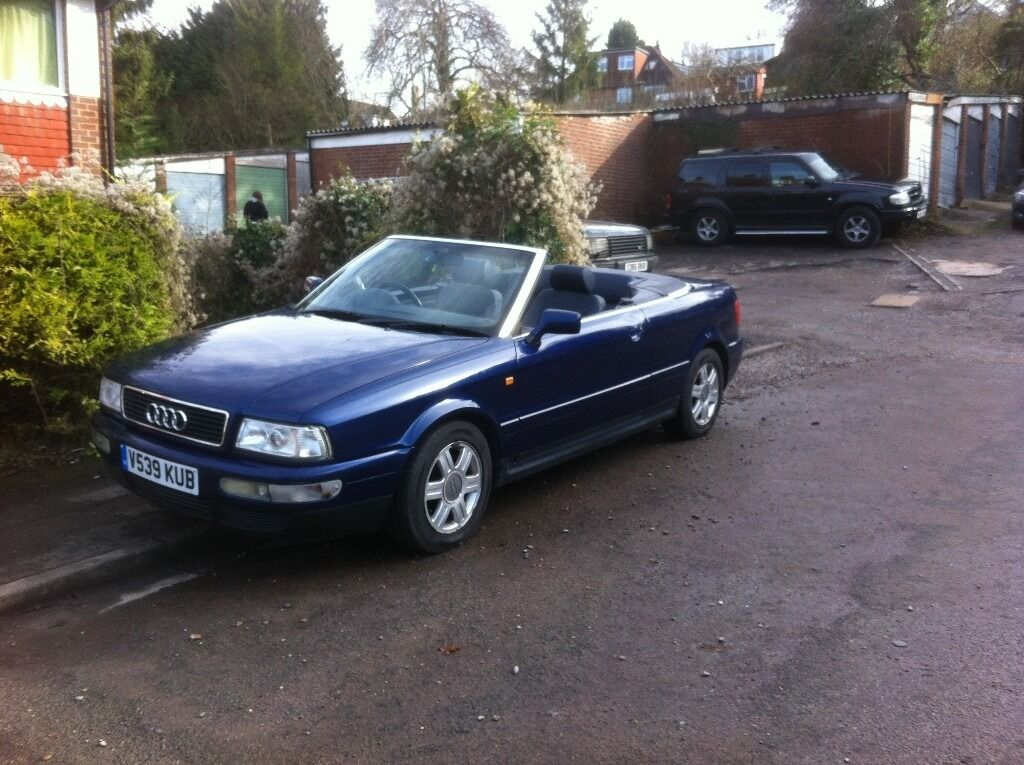 audi 80 cabriolet final edition 2000 reg 1 8 20v in high wycombe buckinghamshire gumtree. Black Bedroom Furniture Sets. Home Design Ideas