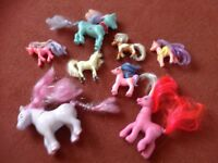 SELECTION OF MY LITTLE PONIES AND OTHERS.