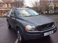 Volvo XC90 2.4 d5 GT 4wd automatic 2005 leather 7 seats alloys