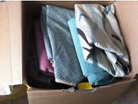 UPHOLSTERY FABRIC BOXES