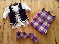 Highland Dance kilt outfit