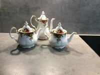 Bone china tea pots/coffee pot