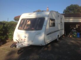 Swift Challenger 480 2 Berth 2006 Touring Caravan with Motor Mover and Full Awning