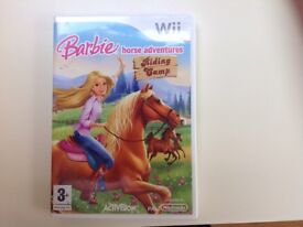 Barbie Horse Adventure Riding Camp game for Wii