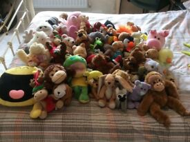 FREE - Collection of Soft Toys - FREE