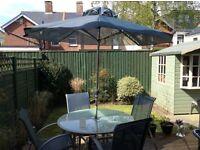 Mediterranean style patio set