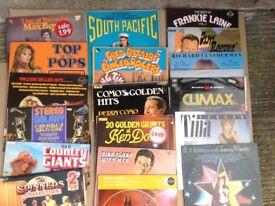 180 VINYL RECORDS CLASSIC POP BALLADS EASY LISTENING