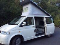 VW Transporter Campervan, 2006, '56 reg 1900cc. In excellent condition.
