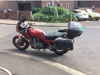 Yamaha tourer X 900. Pre diversion , full luggage, new battery , great bike .