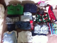Baby boy clothes aged 9-12 month