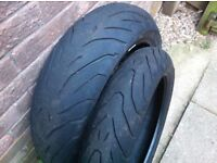 motorcycle tyres 120/190 zr pirelli angel tyres