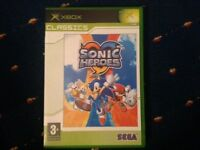 Sonic heroes for Xbox original