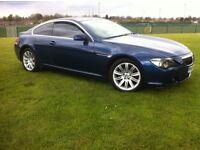 BMW 645CI 4.4 V8 COUPE AUTO MYSTIC BLUE 645*PANORAMIC ROOF* LONG MOT (630,650,745,cl500,635d)