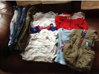 Boys Baby Clothes 9-12 months 17 assorted items