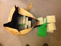 80 Brand New Unused Plastic Side Cases