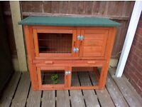 Small animal hutch. Brislington. new. With raincover.