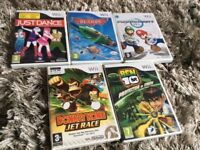 5 wii games all popular titles