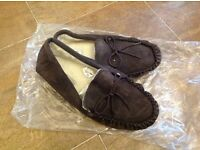 Men's suede slippers New