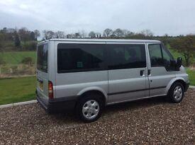 2006 Ford Toureno, 9 seater minibus, taxi, family car 6 mths PSV.