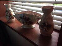 Variety of vases