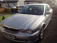 Jaguar x-type 2.0 v6 se full years mot and serviced ...£1295ono