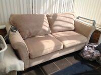 Sofa and footstool - John Lewis