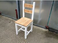 New solid pine dining chairs handmade bench bench's rustic chunky farmhouse dining table