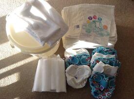 Bambino Mio reusable nappies bundle