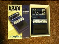 Digitech X-series Bass Chorus pedal (discontinued)