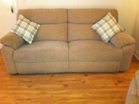 2x reclining sofas (1x3 seater, 1x2 seater) and a single chair great condition