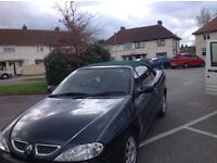 Renault Megane convertible 73 k no texts or timewasters or px