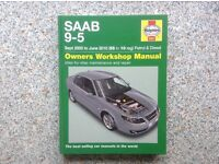 Saab 9-5 Haynes Manual. 2005 to 2010