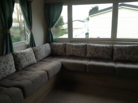 Seton sands haven pk 3 bed deluxe caravans Dog friendly