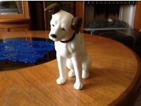 GOOD CONDITION HIS MASTERS VOICE PORCELAIN DOG