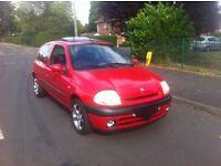 Renault clio 1.2 16v sport