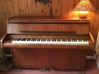 Piano for sale -full size BENTLEY upright