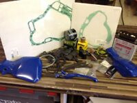 MOTORBIKE BITS AND PIECES JOB LOT CLEAR OUT