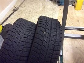 "Winter Tyres 17"" x 2"