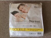 Electric blanket for double bed NEW