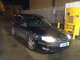 Saab 93 2006 1.9tid auto 150bhp vector sport wagon private plate included