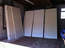 6 Panel Internal Doors x 8