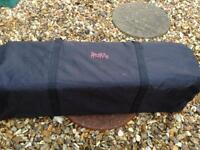 Red kite travel cot good condition