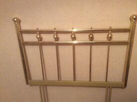 Bed Knobs & Broomsticks Brass Headboard
