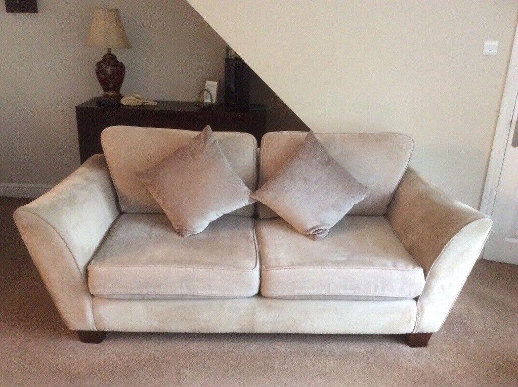 Large settee & snuggler chair. Lee Longlands Hogan Range.