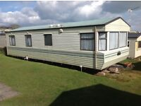 STATIC CARAVAN 6 BERH FOR RENT IN MARCH AT DEVON CLIFFS EXMOUTH IN DEVON