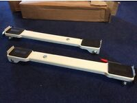 Appliance moving bars/rollers