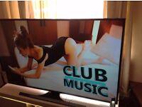 "SAMSUNG 48"" Smart 4K ULTRA HD TV - UE48JU6400,built in Wifi,Freeview HD,NETFLIX,Excellent condition"