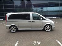 """Mercedes vito 20"""" alloys wheels with tyres"""