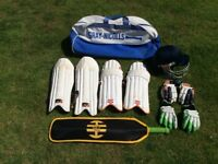 Cricket equipment boys ( Age 7 to 11 ish )